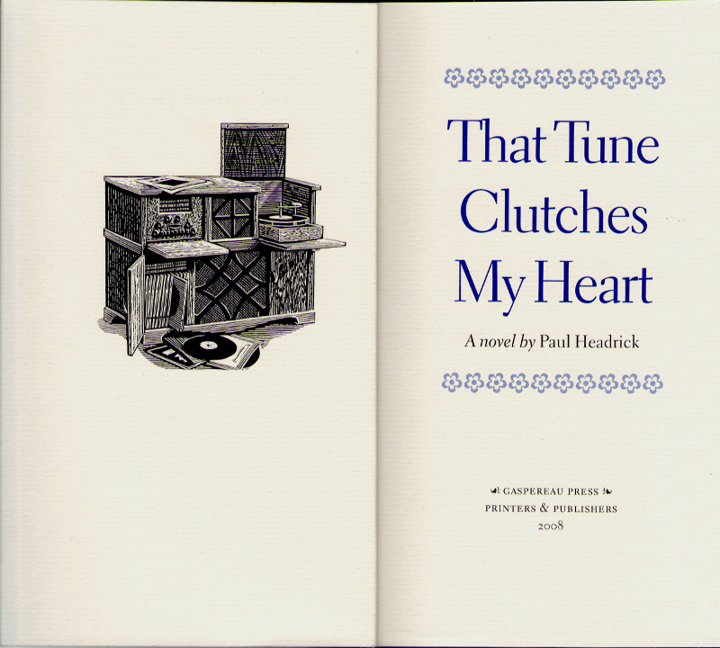 Tune Clutches Heart Titlepage Headrick