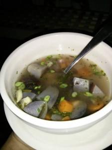 Soup brewed by Ella!