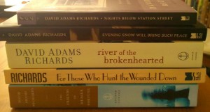 David Adams Richards Backlist Stack
