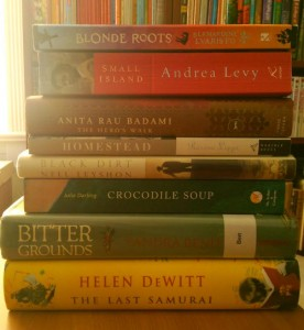 Women's Fiction Prize Backlist Stack