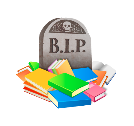 Buried In Print Logo