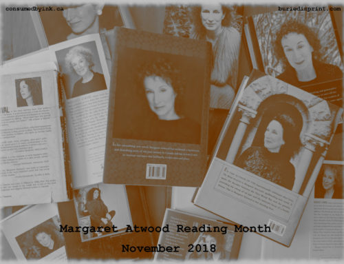 Margaret Atwood Reading Month – November 2018 #MARM