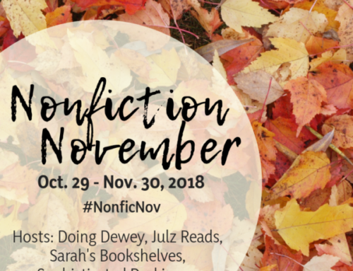 Non-Fiction November 2018 Week Five (Summary)