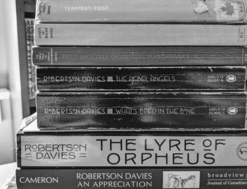 Robertson Davies' Reading Week: Davies in the Bardo