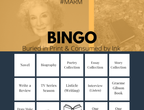 Margaret Atwood Reading Month #MARM BINGO
