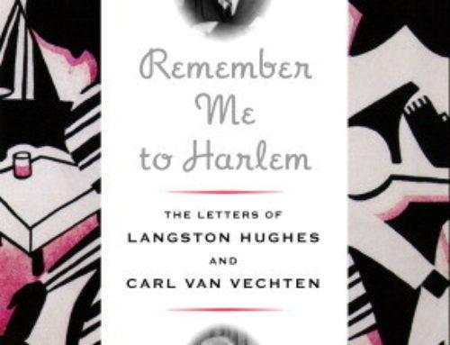 The Writing Life: Langston Hughes (1 of 4)